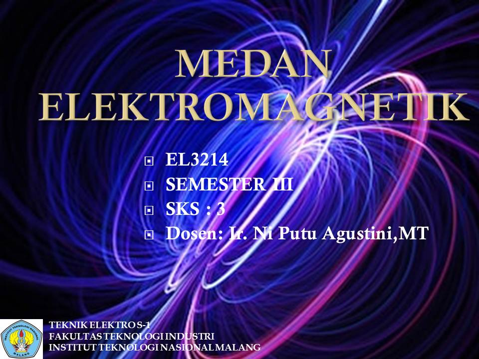 Ganjil 2020 Medan Elektromagnetik