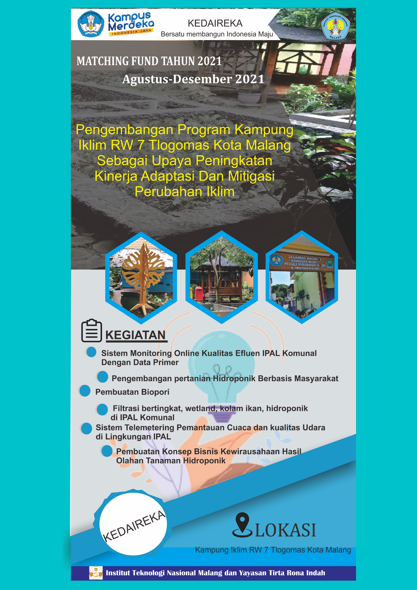 MBKM Magang 2021 -Matching Fund Tirtarona